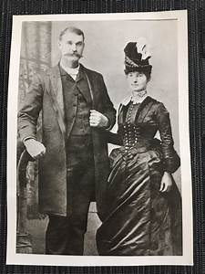 My great-great grandparents on their wedding day in 1887 ...