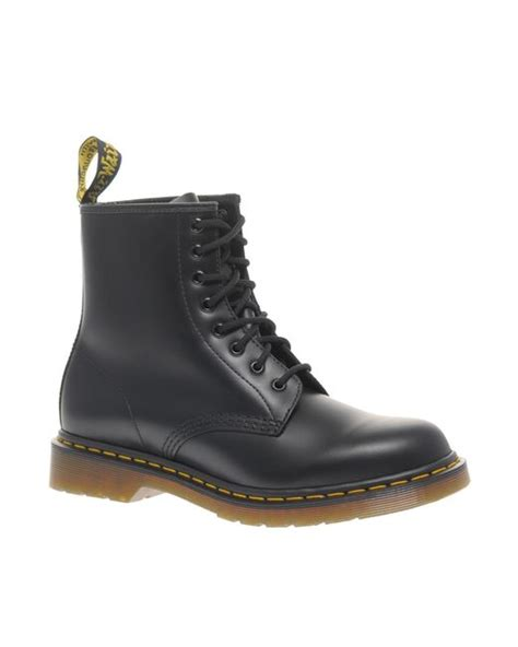 dr martens modern classics smooth 1460 8 eye boots black in black lyst