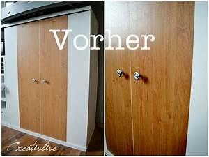 Schrank Aus Stoff : vorher nachher creativlive ~ Markanthonyermac.com Haus und Dekorationen