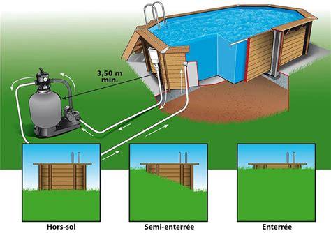 piscine bois lagon 5 50 x 4 00 x h1 20m
