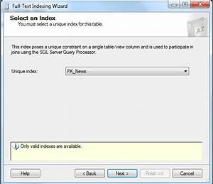 Full Text Indexing in SQL Server 2012
