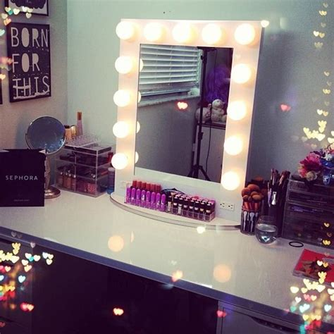 broadway lighted table top vanity mirror from vanity new room decor