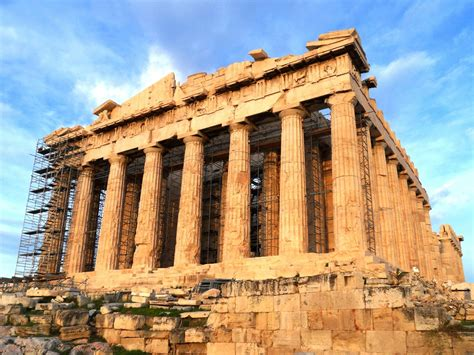 Ancient Greek Buildings And Structures