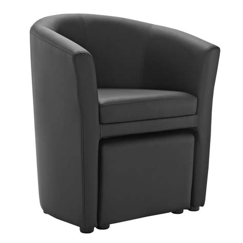 sequence chair and ottoman set modern furniture brickell collection