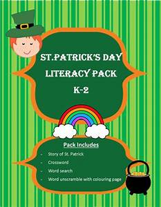 St. Patrick's Day Literacy Pack (Free) - Castle View Academy