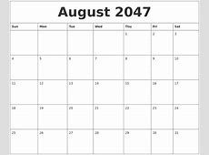 June 2047 Printable Calendar Template