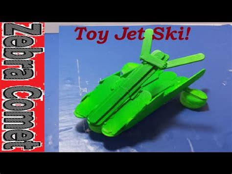How To Make A Toy Boat Youtube by How To Make A Toy Jet Ski Boat Youtube