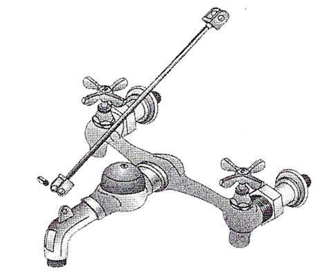 service faucet for mop sink w vacuum breaker