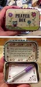 DIY Altoid Tin Prayer Boxes ︎ a sweet friend gave me one ...
