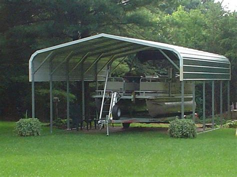 Pontoon Boat Hard Top Cover by Pontoon Boat Cover Custom Metal Boat Cover For A Pontoon