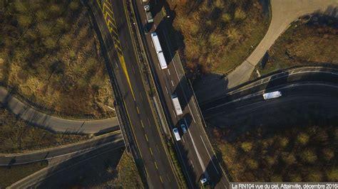 en images l autoroute a16 prolong 233 e jusqu 224 la francilienne dans le val d oise le parisien