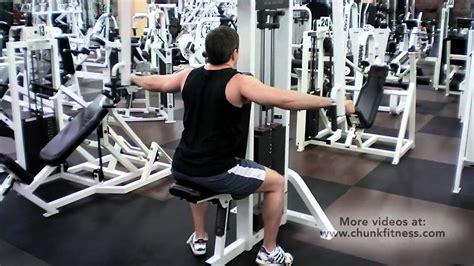 rear deltoid laterals on pec deck