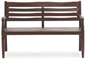 strathwood redonda hardwood 2 seater bench