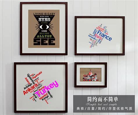 a3 a4 nouveau design noir image maison cadre 2016 creative d 233 coration mur cadre photo id de