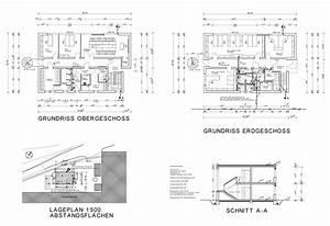 Grundriss Schnitt Ansicht : bauantrag zeichenb ro heike weber cad bauantrag werkplan saarland ~ Markanthonyermac.com Haus und Dekorationen