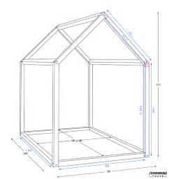 construire un lit cabane soi meme maison design stuhne