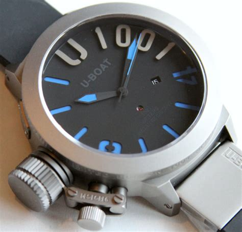 U Boat Watch Review by U Boat U 1001 Limited Edition Watch Review Ablogtowatch