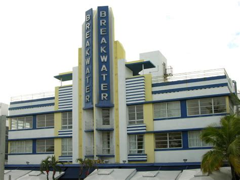 deco building at south