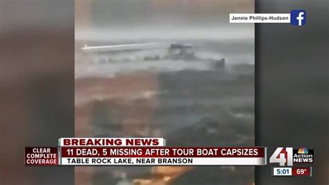 Duck Boat Capsized Video by Duck Boats Missouri Capsizing Is At Least The Fifth