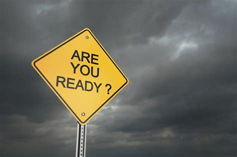 Are You Ready For Disaster?team Gaffney