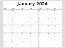 April 2024 Blank Schedule Template