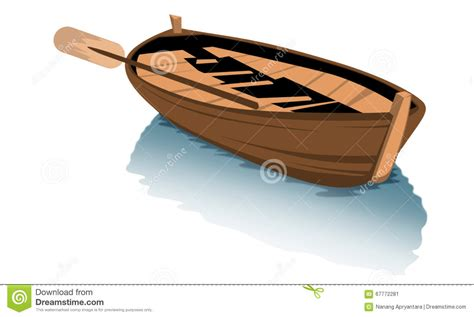 Cartoon Wood Boat by Wood Boat Clipart Stock Illustration Image 67772281