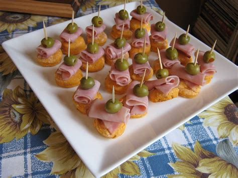les douceurs de genny canap 201 s jambon olive sur petit biscuit