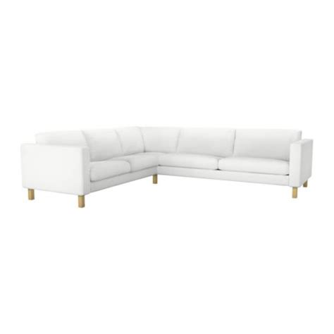 karlstad corner sofa 2 3 3 2 cover blekinge white ikea