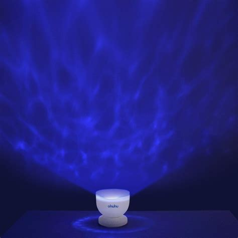 Relaxing With The Ohuhu Ocean Wave Night Light Projector