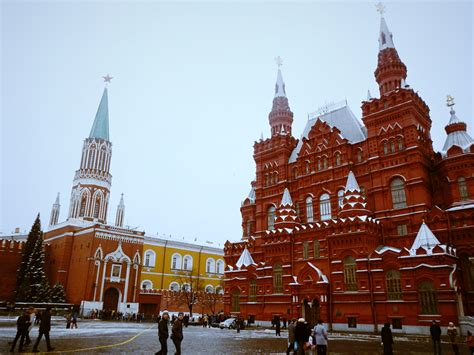 Moscow Red Square by Moscow S Winter Wonderland Viktoria Jean