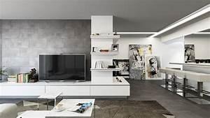 Wohnzimmer Boden Grau : wohnzimmer fliesen moderne einrichtungsideen f r den wohnbereich ~ Markanthonyermac.com Haus und Dekorationen