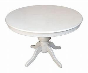 Tischplatte Rund 120 Cm : esstisch ausziehbar rund wei arteferretto durchmesser 120 cm ausziehbar bis 148 cm ~ Markanthonyermac.com Haus und Dekorationen