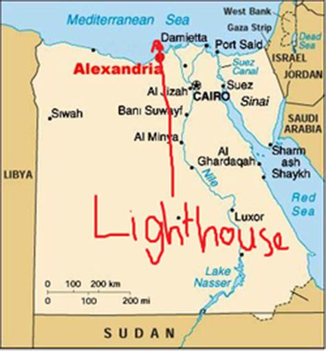 alexandria light and power lighthouse of alexandria 7 wonders of the ancient world