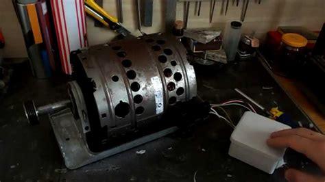 bricolage faire marcher un moteur de machine a laver