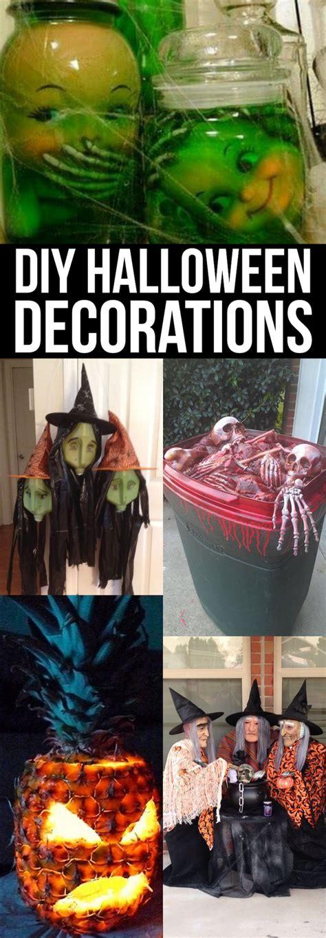 Easy Diy Halloween Decorations  Smart School House