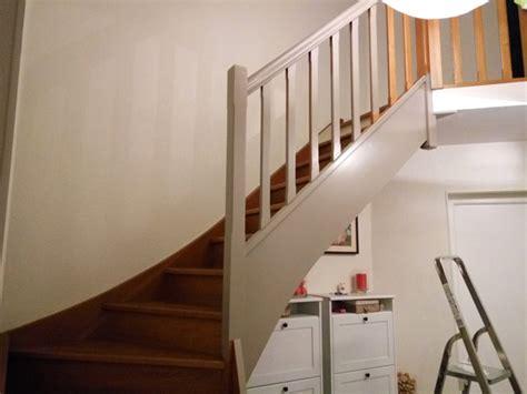 peindre un escalier en bois vernis de conception de maison