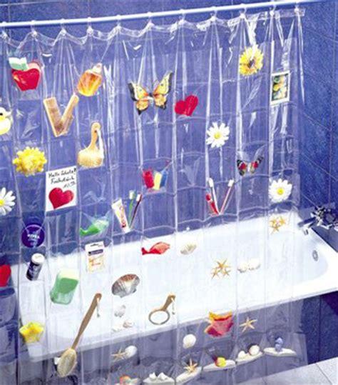 un rideau de amusant pour la salle de bain enfant