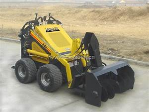 Mini Skid Steer Loader - HY380 - HYSOON (China ...