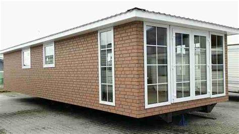Mobilheim Mit 3 Fachglas Wohnwagen Baucontainer