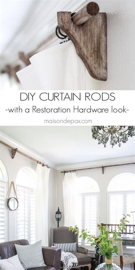 1000 ideas about curtain brackets on shelf