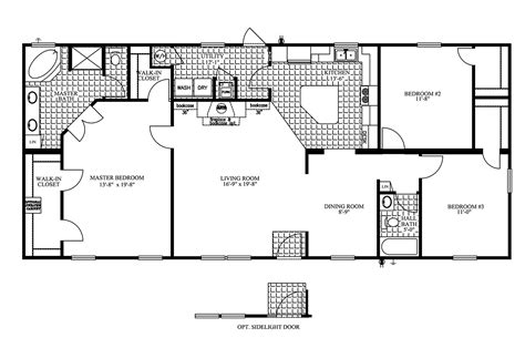 Clayton Mobile Home Floor Plans Photos by Manufactured Home Floor Plan 2009 Clayton Jamestown