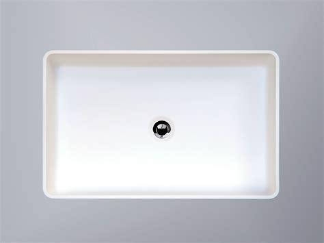 vasque 224 poser rectangulaire en hi macs 174 cb540r by hi macs 174 by lg hausys europe