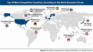 Switzerland And Singapore Top U.S. In Global ...