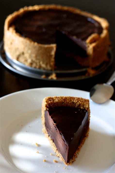 tarte au chocolat facile sans cuisson fond biscuit 233 cuisine en sc 232 ne le cuisine de
