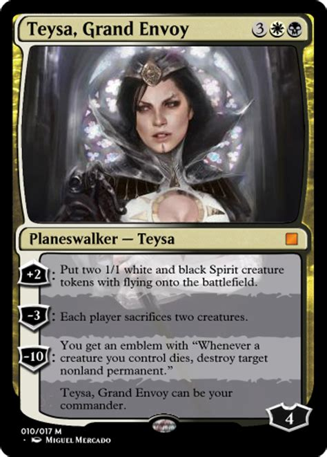 my commander set is looking a lot more polished after feedback custommagic