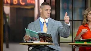 John Cena co-hosts 'Today': photos   WWE Community