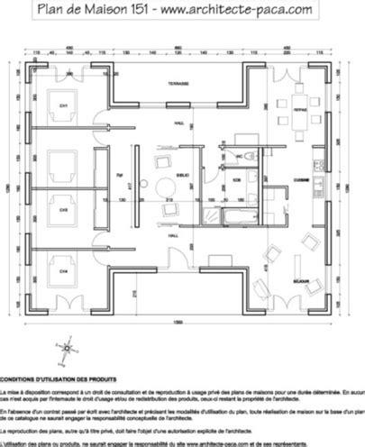 t 233 l 233 charger plan de maison bois plain pied sur mesure 1 100e plan de maison individuelle d