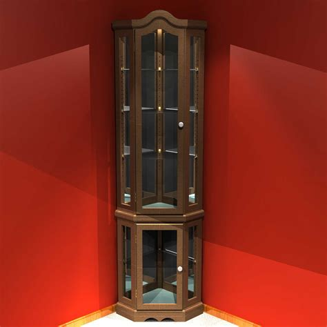 these types of curio units can be found in numerous