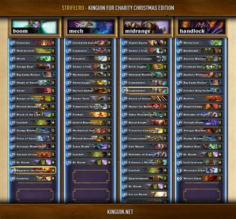 hearthstone news strifecro pilots a flawless mage into gvg tournament title decklists