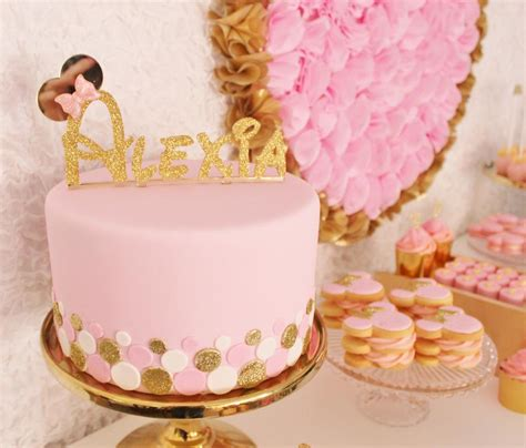 pink and gold cake themed cakes on minnie mouse cake minnie